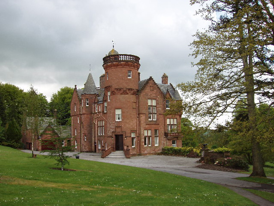 Threave House, Kircudbrightshire, Scotland