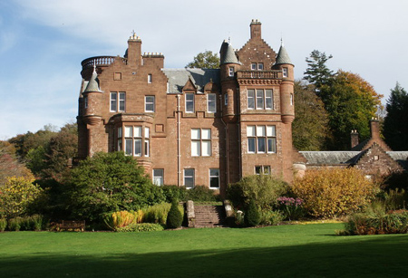 Threave House, home of the William Douglas family, now owned by the National Trust for Scotland