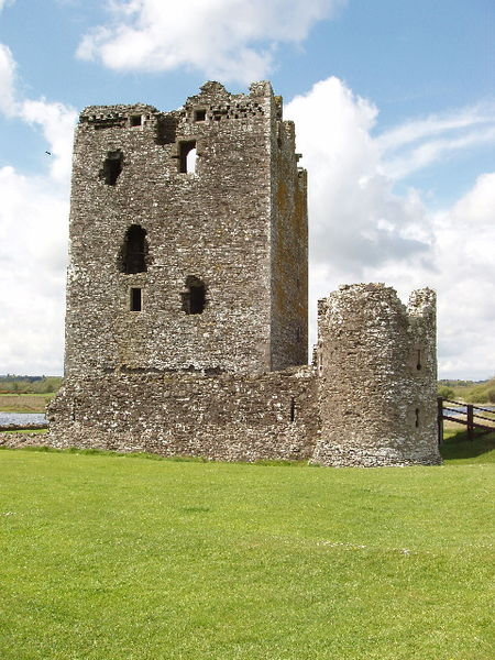 Threave Castle on the River Dee, not far from the town of Castle Douglas in Scotland.