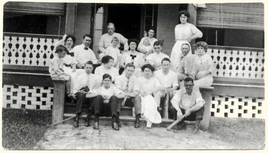 The F.C. Brent family, ca.1911, Pensacola, Florida