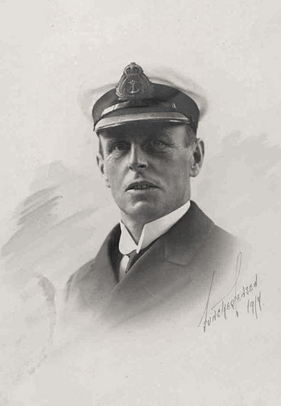 Dr. Edwin Swainson Miller, Royal Naval surgeon