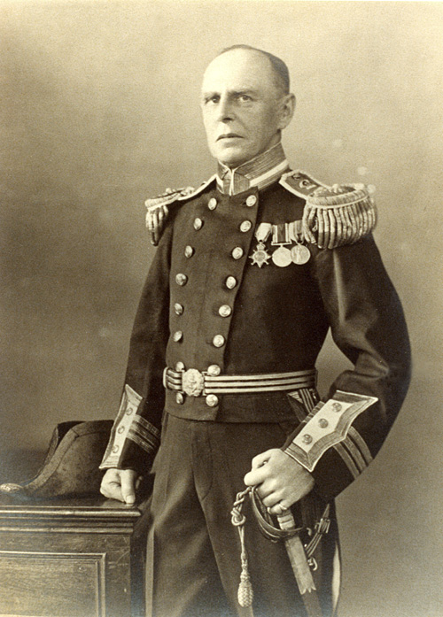 Edwin Swainson Miller, surgeon in the Royal Navy.