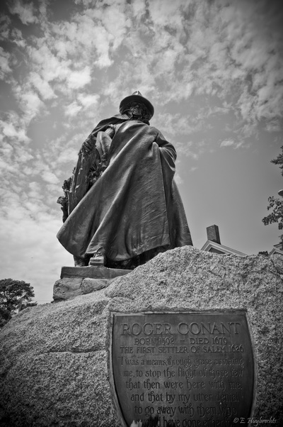 Roger Conant statue, Salem, Massachusetts